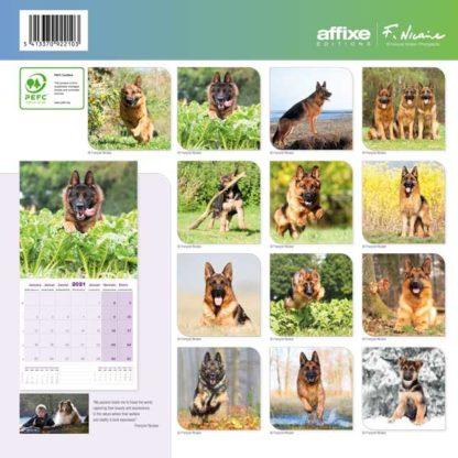 Calendrier German Shepherd 2021