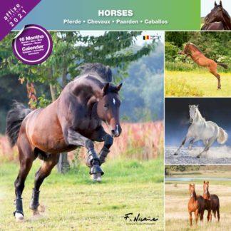 Calendrier Horses 2021