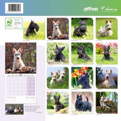 Calendrier Scottish Terrier 2021